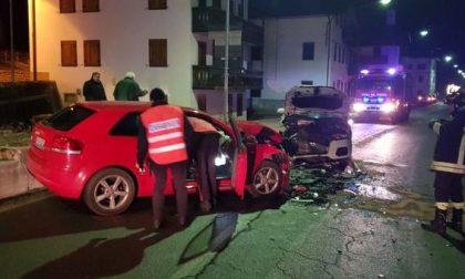 Auronzo, tre feriti in un drammatico scontro ad un bivio