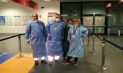 Psicosi Coronavirus: gli alpini bellunesi impegnati negli aeroporti italiani