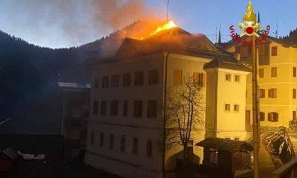 Zoppè di Cadore, l'incendio sotto controllo GALLERY