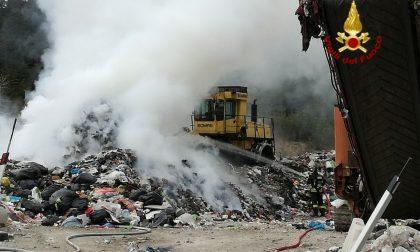 Cortina, incendio in una discarica: intervengono i vigili del fuoco