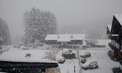 Nevicate da record in provincia di Belluno
