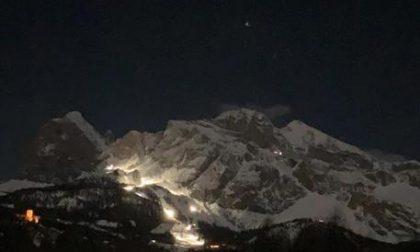 Cortina si illumina nonostante lo stop alle gare