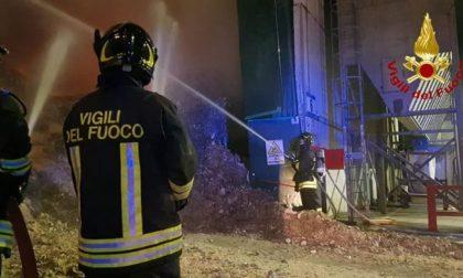 Montebello, incendio nell'impianto smaltimento rifiuti: oggi i risultati Arpav