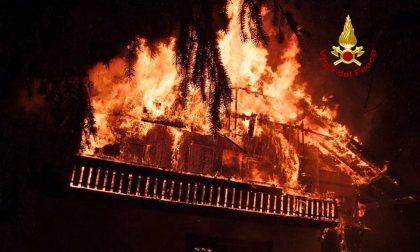 Cortina, a fuoco la villa set di cinepanettoni e per Sorrentino
