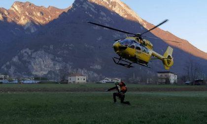 Monte Serva, escursionista incosciente recuperato dal Soccorso Alpino