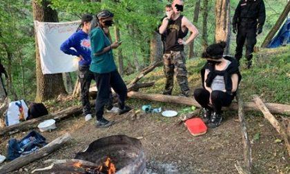 Pasqua a base di droga e alcol, quattro giovani bellunesi trovati nel bosco e denunciati