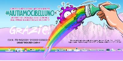 #AIUTIAMOCIBELLUNO: via alla raccolta fondi per l'emergenza coronavirus