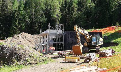 Rocca Pietore: ripresi i lavori per la costruzione del vascone dell'acquedotto