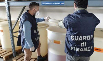 Operazione della Guardia di Finanza di Padova: sequestrate 400mila mascherine