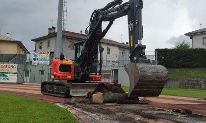 Feltre: iniziati i lavori allo stadio Zugni Tauro