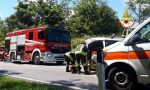 Perde il controllo del furgone: ferito un uomo