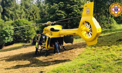 Scivola sul ghiaione e si paralizza: soccorso 43enne trevigiano