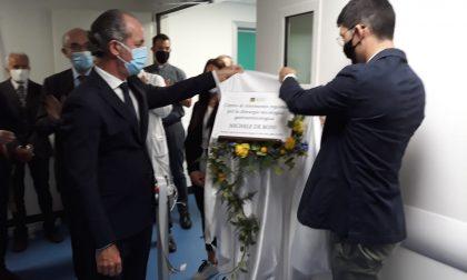 Ospedale di Feltre: il Governatore Zaia inaugura la nuova rianimazione