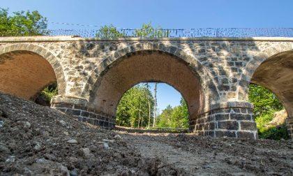 Ponte sul Gresal, lavori verso la conclusione