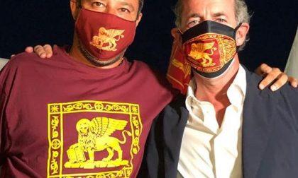Oggi tappa veneta per Matteo Salvini: a sostenerlo Luca Zaia