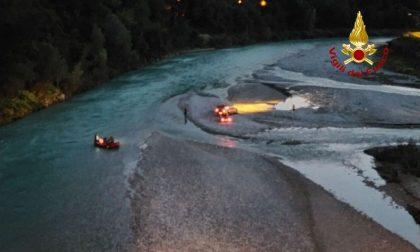 Belluno, resta bloccata su un isolotto del Piave: persona soccorsa dai Vigili del fuoco