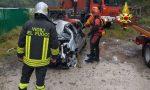 Auto finita nel torrente Cordevole recuperata ieri dai Vigili del fuoco – FOTO
