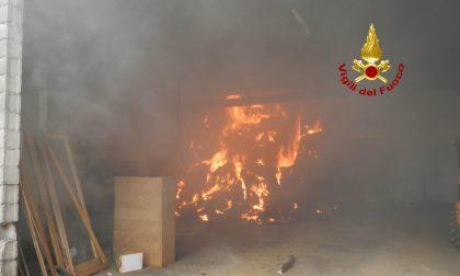 Maxi incendio nel capannone di un'azienda agricola a Sedico: in salvo 50 tori - FOTO