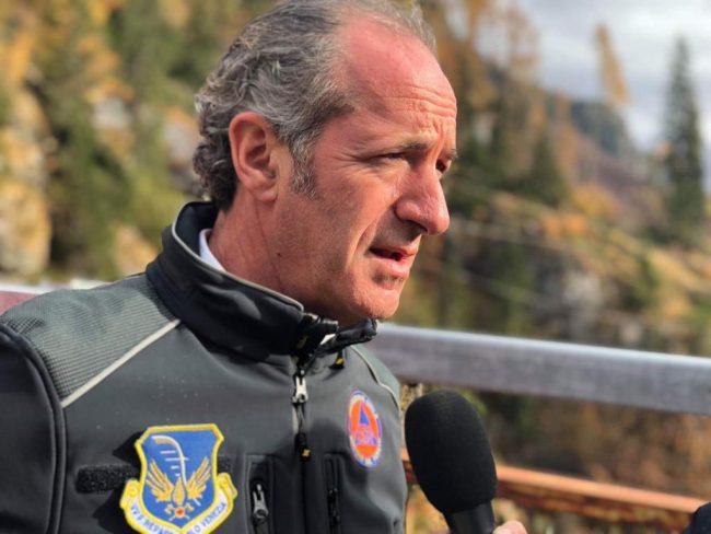 """Maltempo, Zaia: """"Almeno mezzo miliardo di danni""""   Covid, +2550 positivi   Dati 7 dicembre 2020"""