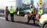 Tragedia in A27, tremendo tamponamento tra due veicoli: morto un 72enne di Belluno