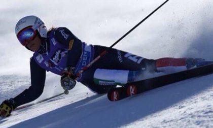 Federica Brignone delude a Cortina, errore nel Gigante: addio medaglia