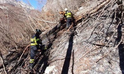 Dichiarato lo stato di grave pericolosità per gli incendi boschivi
