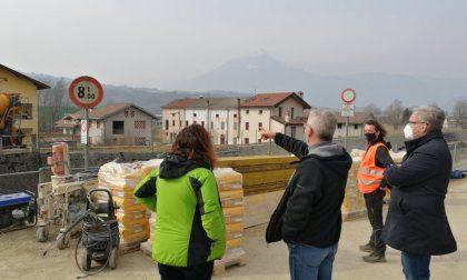 Dissesto idrogeologico, Bottacin in sopralluogo ai cantieri dell'Alpago