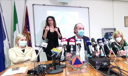 """Covid, Zaia: """"Contagi in aumento, preoccupano Padova, Treviso e Verona""""   +757  Dati 8 marzo 2021"""