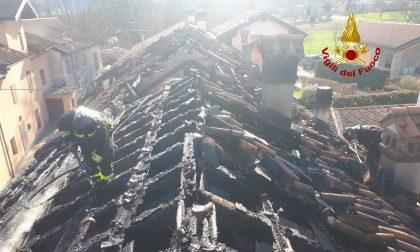 Le foto dell'incendio in una casa a Feltre: 5 persone evacuate