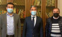 Il presidente della Provincia ha dato il benvenuto al nuovo prefetto Mariano Savastano