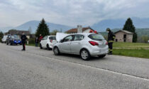 Tamponamento fra tre vetture a Feltre, un ferito