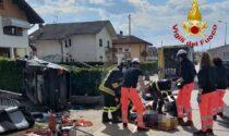 Incidente a Trichiana: perde il controllo dell'auto e si schianta contro la recinzione