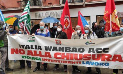 Lavoratori Acc a Venezia per avere risposte dal Consiglio Regionale Veneto