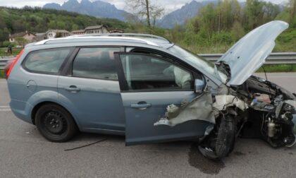 Incidente a Sedico: auto esce di strada, ferita una 37enne