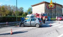 Incidente a Levego: scontro tra due auto, un ferito