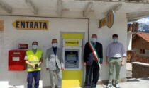 Inaugurato il postamat nel piccolo comune di Danta di Cadore