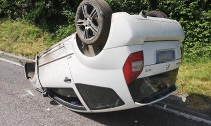 Incidente a Feltre: perde il controllo dell'auto, ferito 19enne