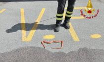 Serpente nei pressi di un albergo ad Auronzo di Cadore, intervengono i Vigili del Fuoco