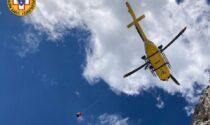 Coppia di alpinisti americani precipita dalla Torre Wundt: 57enne in gravi condizioni