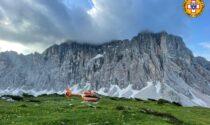 Alpinisti bloccati in parete sul Civetta: recupero difficile a causa di pioggia e nebbia