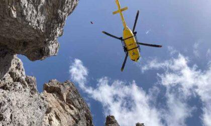 Escursionista scivola sul ghiaione tra forcella Erbandoi e la cima del Talvena e si ferisce