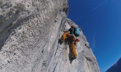 Tragedia sul Monte Bianco, Giovanni Marcon precipita per 200 metri
