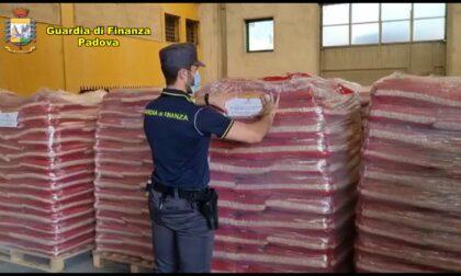 Oltre 350 tonnellate di pellet potenzialmente pericoloso: sequestro anche nel Bellunese