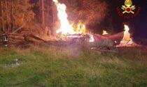 Baita in fiamme nel Cadore: Vigili del Fuoco impegnati con 3 squadre