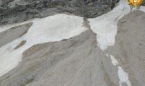 Verificate due frane sul Civetta: l'elicottero ha sorvolato la zona
