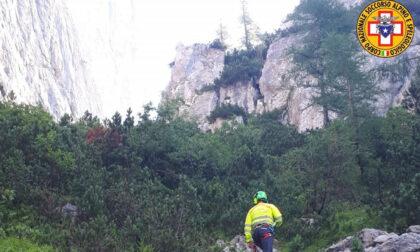 Basejumper si lancia dalla cima Framont: ritrovato morto in un canale sotto la parete