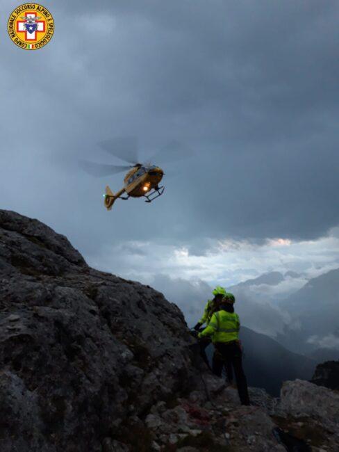 Precipita sul Lagazuoi, morto alpinista milanese di 48 anni