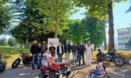 Donate alla Pediatria di Belluno le mini auto elettriche per i piccoli pazienti ricoverati