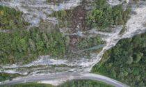 Riaperta la SR 203 Agordina dopo la caduta dei sassi