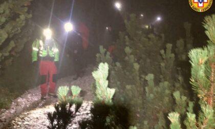 Escursionista californiana si perde sul sentiero Minazio: ritrovata nella notte dal soccorso alpino